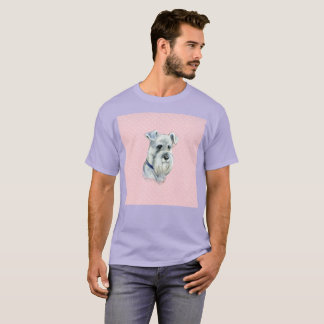 Sir Perro Long Stash Dog Watercolor Rare T-Shirt