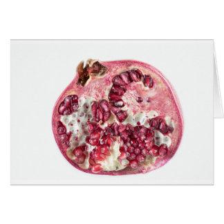 Sir Pomegranate Card