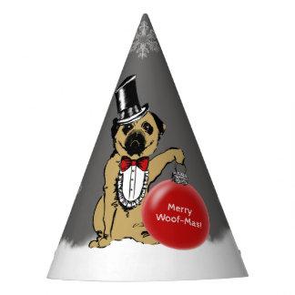 Sir Pug Dog Party Hat