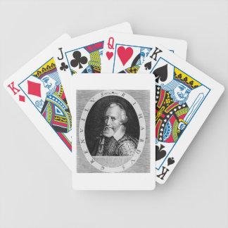 Sir Richard Grenville (c.1541-91), from 'Newe Welt Poker Deck