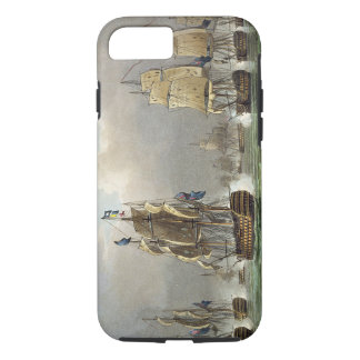 Sir Robert Calder's Action, July 22nd 1805, engrav iPhone 7 Case