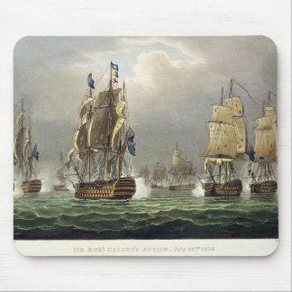 Sir Robert Calder's Action, July 22nd 1805, engrav Mouse Pad