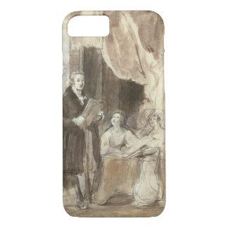 Sir Robert Peel Reading to Queen Victoria iPhone 7 Case