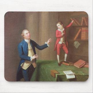 Sir Robert Walker and his son Robert Mouse Pad