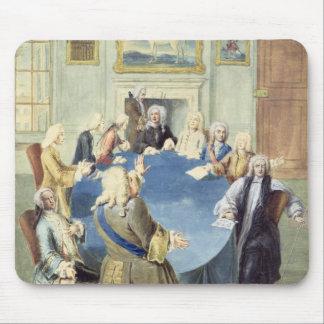 Sir Robert Walpole addressing his cabinet Mouse Pad