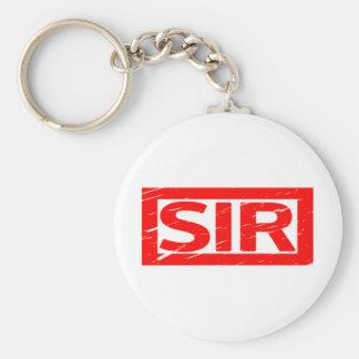 Sir Stamp Keychain