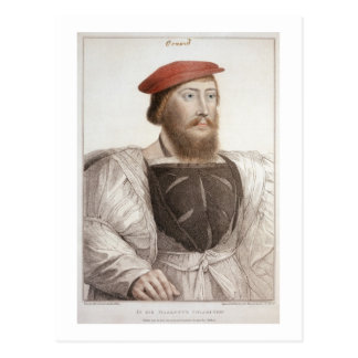Sir Thomas Boleyn (1477-1539) engraved by Francesc Postcard