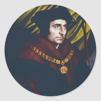 Sir Thomas More Round Sticker