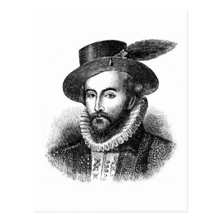 sir-walter-raleigh postcard