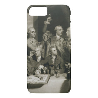 Sir William Hamilton (1730-1803) with other Connoi iPhone 7 Case