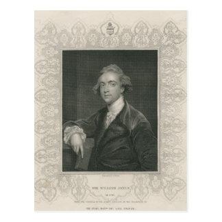 Sir William Jones from 'Gallery of Portraits' Postcard