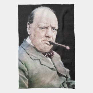 Sir Winston Churchill Kitchen Towel
