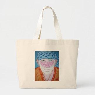 SIRDI Sai Baba SaiBaba Guru Divine Blessing Yoga Canvas Bags