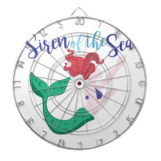 Siren Of Sea Dartboard