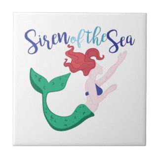 Siren Of Sea Tile