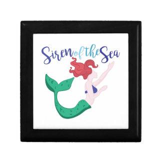 Siren Of Sea Trinket Boxes