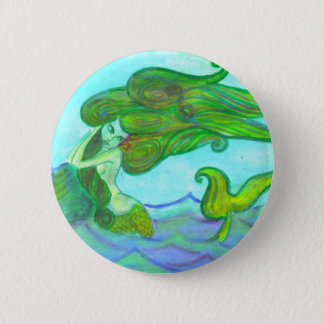 siren with the rock 2 inch round button