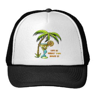Sirène de margarita casquettes de camionneur