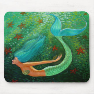 Sirène de plongée tapis de souris