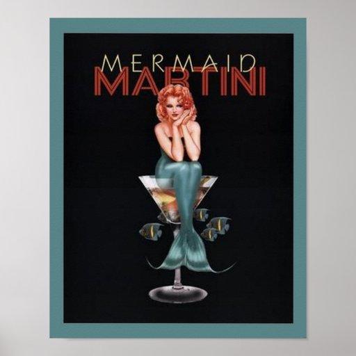 Sirène Martini Affiches