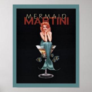 Sirène Martini Poster