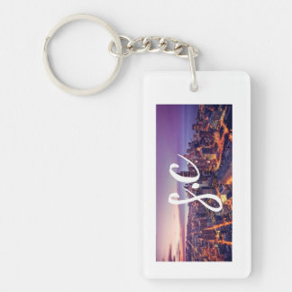 Siri city Keychain