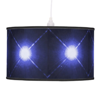 Sirius A and B bright night stars Pendant Lamp