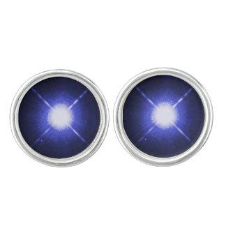 Sirius A and B stars Cuff Links