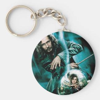 Sirius Black and Bellatrix Lestrange Basic Round Button Keychain