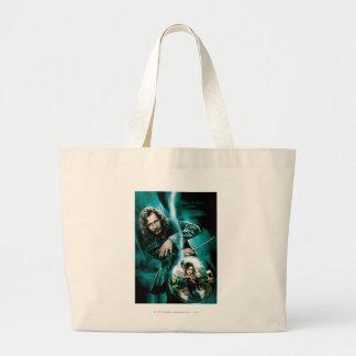 Sirius Black and Bellatrix Lestrange Large Tote Bag