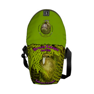 Sirocco Kakapo Fan Club Messenger Bag