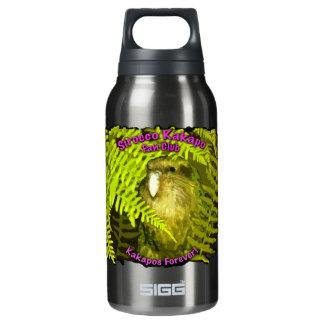 Sirocco Kakapo in Ferns Insulated Water Bottle