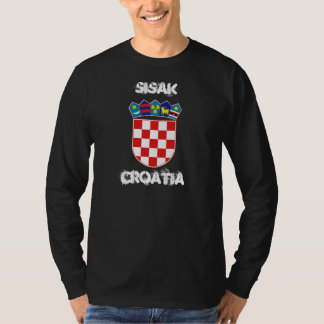 Sisak, Croatia with coat of arms T-Shirt
