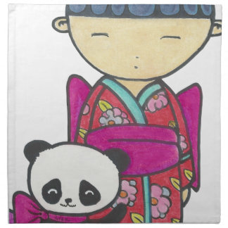 Sishu and bamboo napkin