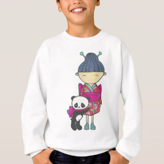 Sishu and bamboo sweatshirt