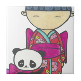 Sishu and bamboo tile