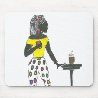 'Sista has a Skinny Latte' Mouse Pad