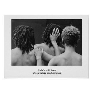 sista s with locs poster