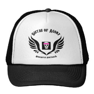 Sistas Of Agony Sisters of Agony Cap Trucker Hat