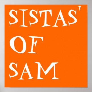 SISTAS' OF SAM POSTER