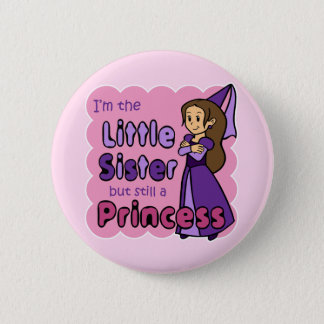 Sister 2 Inch Round Button