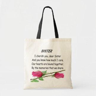 SISTER -BAG TOTE BAG