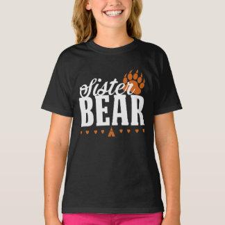 Sister Bear Paw Print Shirt