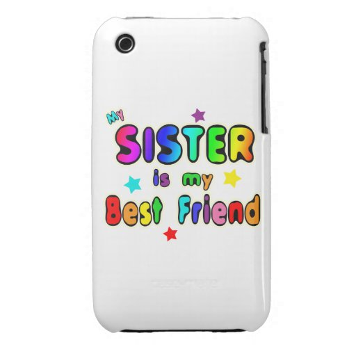 Sister Best Friend iPhone 3 Covers