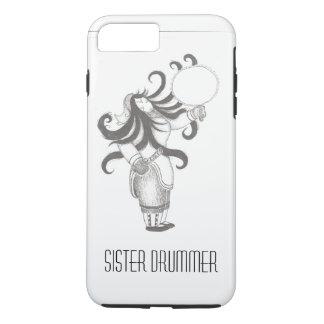 Sister Drummer IPhone case