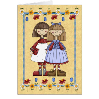 Sister Friendship Birthday Card