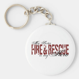Sister Hero - Fire & Rescue Keychain