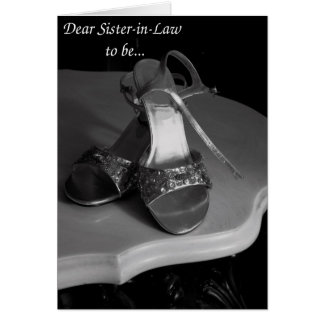 Sister-in-Law, will you be my Maid of Honor? Card