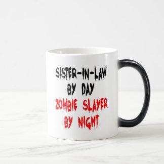 Sister-in-Law Zombie Joke Magic Mug
