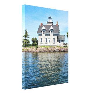 Sister Islands Lighthouse, New York Canvas Print